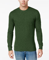 Club Room Men's Long Sleeve Pocket T-Shirt, Classic Fit