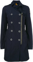 Parajumpers dislocated zip trenchcoat - women - Polyester - XS