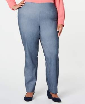 Charter Club Plus Size Tummy-Control Skinny Pants, Created for Macy's