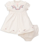 Little Me Girls' Embellished Dress & Bloomers Set - Baby