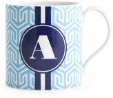 Jonathan Adler Carnaby Monogrammed Mug