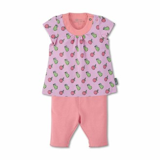 Sterntaler Baby Girls' Tunic with Capri Leggings Dress
