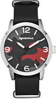 Arizona Mens Black Strap Watch-Fmdarz529
