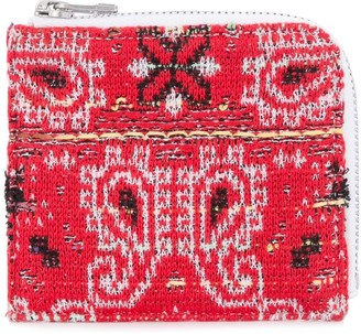 Coohem Knit Tweed Bandana Wallet