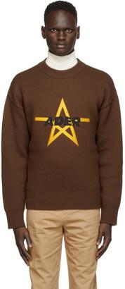 Ader Error Brown Stad Sweater