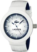 Lacoste Men's 2010795 Borneo Analog Display Japanese Quartz White Watch