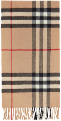 Burberry Brown Giant Check Scarf