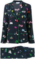 Mira Mikati printed pyjama suit - women - Silk - 34