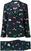 Mira Mikati printed pyjama suit