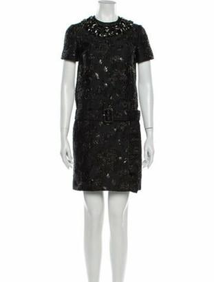 Prada 2019 Mini Dress w/ Tags Black