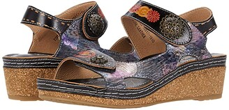 Spring Step L'Artiste by Tiffinal (Black Multi) Women's Shoes