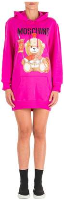 Moschino Roman Teddy Bear Mini Dress