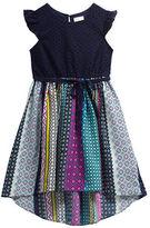Sweet Heart Rose Sweetheart Rose Girls 2-6x Hi-Lo Cap Sleeved Dress