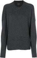 Isabel Marant Juliet cuff sweater - women - Polyamide/Camel Hair/Wool - 36