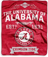 Bed Bath & Beyond University of Alabama Raschel Throw
