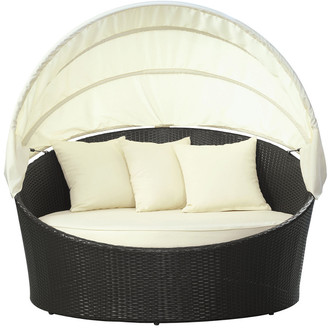 Modway Outdoor Siesta Canopy Outdoor Patio Daybed