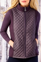 Charlie Paige Diamond Quilted Vest
