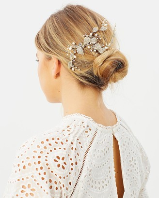 Ivory Knot Misty Hair Comb