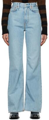 Acne Studios Blue Bootcut Fit Jeans