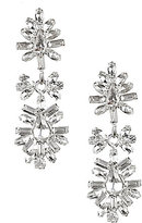 Cezanne Faux-Crystal Starburst Drop Earrings