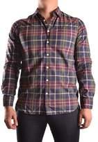 Franklin & Marshall Men's Multicolor Cotton Shirt.