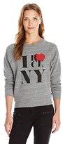 Rebecca Minkoff Women's Rock NY Crew Sweatshirt