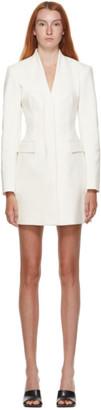Dion Lee White Frame Blazer Dress