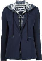 Veronica Beard layered hooded blazer