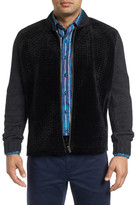 Robert Graham Mixed Media Knit Jacket