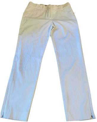 Sportmax White Cotton Jeans for Women