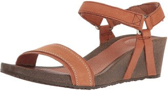 Teva Women's W Ysidro Stitch Wedge Sandal