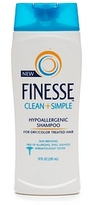 Finesse Clean & Simple Hypoallergenic Shampoo for Dry/Color Treated Hair