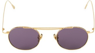 Cutler & Gross 47MM Round Sunglasses
