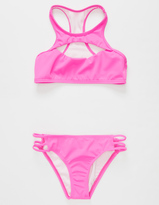Reef Cove Solids Girls Bikini Set