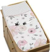 Sweet Jojo Designs Floral Changing Pad Cover