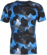 Asics Fuzex Print Tshirt Camo Geo Directoire Blue