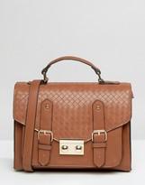 Asos Weave Satchel Bag