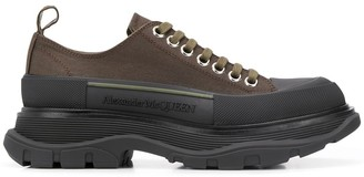 Alexander McQueen exaggerated-sole sneakers