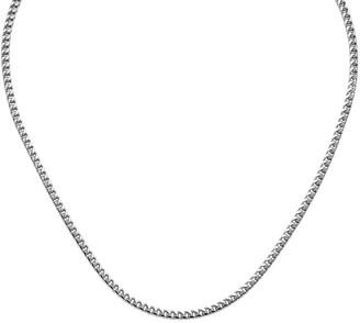 """14K Franco Link 24"""" Necklace, 33.0g"""