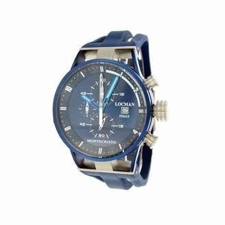 Locman Analog Quartz Watch with Stainless Steel Strap Clear 3 (Model: 4573282430330)