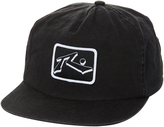 Rusty Dropper Snapback Cap Black