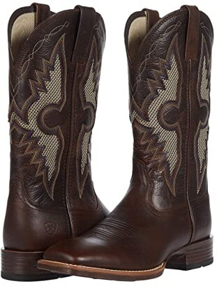 Ariat Solado VentTektm (Dark Whiskey) Cowboy Boots