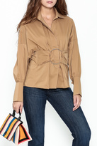 Ina Belted Ring Blouse