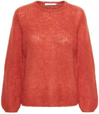 Gestuz HollyGZ Rooibos Mohair Wool Pullover - Size XS | wool | orange - Orange/Orange