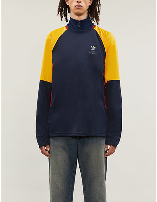 adidas x BED j.w. FORD colour-blocked jersey top