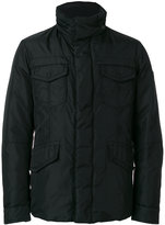 Peuterey padded cargo coat - men - Feather Down/Polyamide - XS