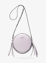 Michael Kors Delancey Medium Leather Canteen Crossbody Bag