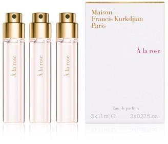 Francis Kurkdjian 3-Piece A la rose Eau de parfum Refill Set