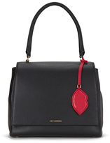 Lulu Guinness Women's Rita Large Grab Tote Bag Black