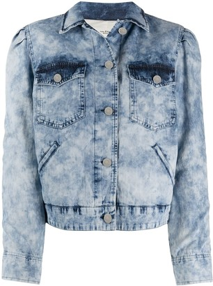Etoile Isabel Marant Denim Acid Wash Jacket